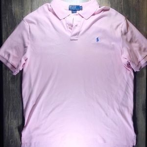 Polo by Ralph Lauren Pink Pima Soft Touch Polo